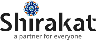 Shirakat Black Logo