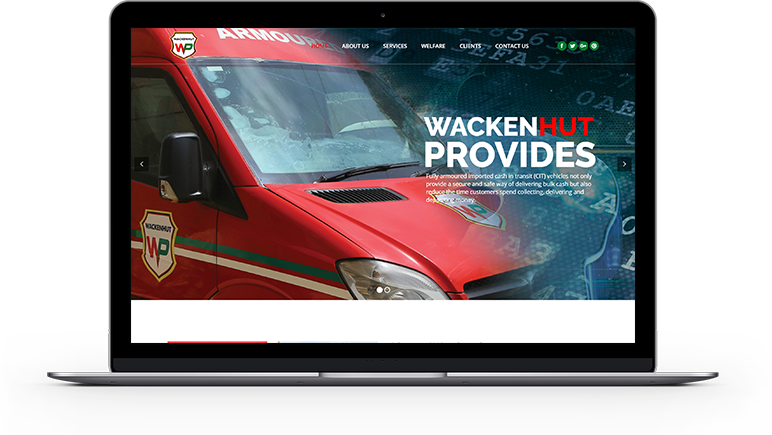 Wacken Hut Website