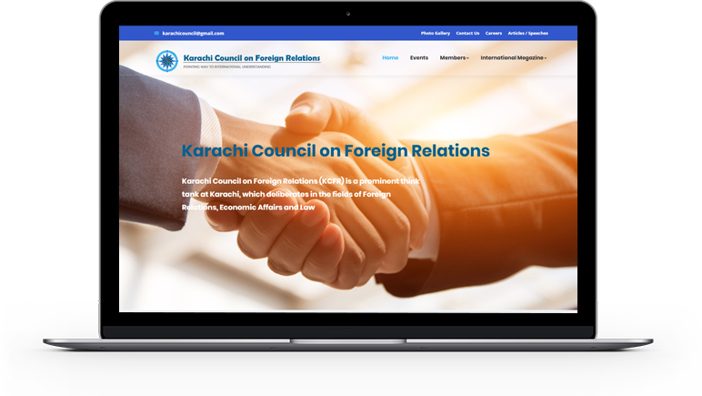 Karachi Council Foreign Relations Website